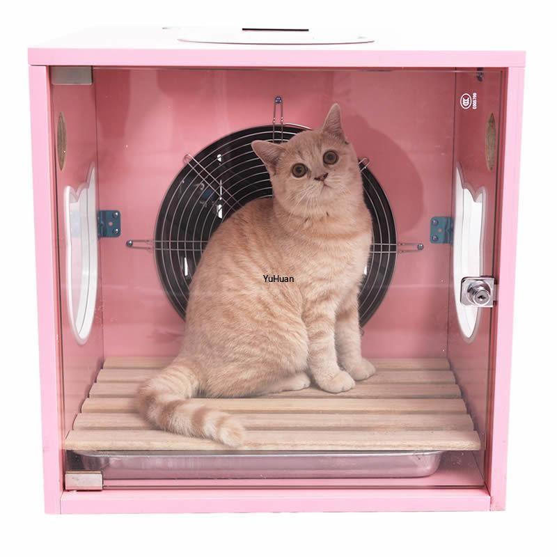 Fully Automatic Pet Drying Box Hair Dryer Dog Cat Hair Dryer Water Blower Bath Artifact Mute In 2020 Dog Blow Dryer Cat Hair Dog Cat