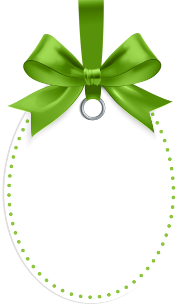 Label With Green Bow Template Png Clip Art Bow Template Frame Ribbon Alcohol Ink Crafts