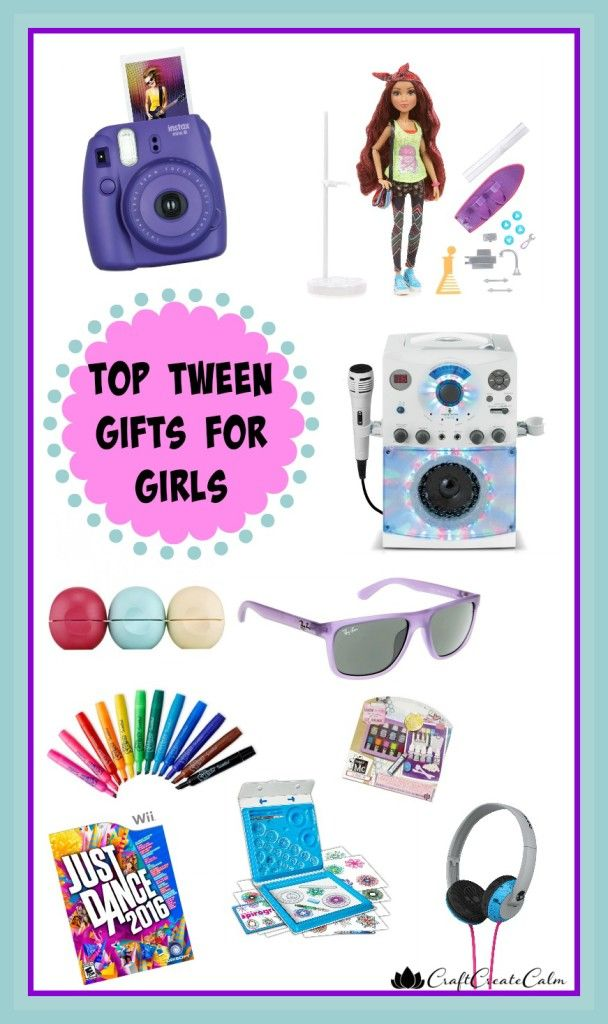 Top Girl Christmas Gifts Part - 17: Gift Ideas For Tween Girls. Top Gifts For Tweens This Holiday Season!