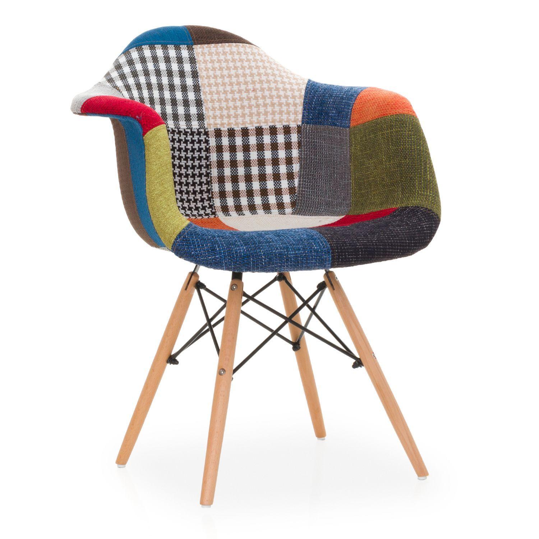 Ispirata alla Sedia DAW di Charles & Ray Eames La struttura delle gambe si basa