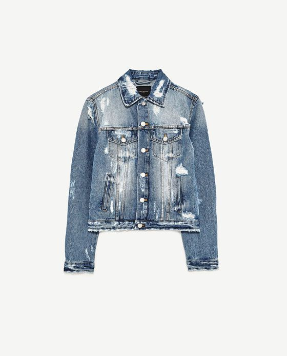 Imagen Cazadora Zara 2019 De 8 Denim Clothes En HqUrHS