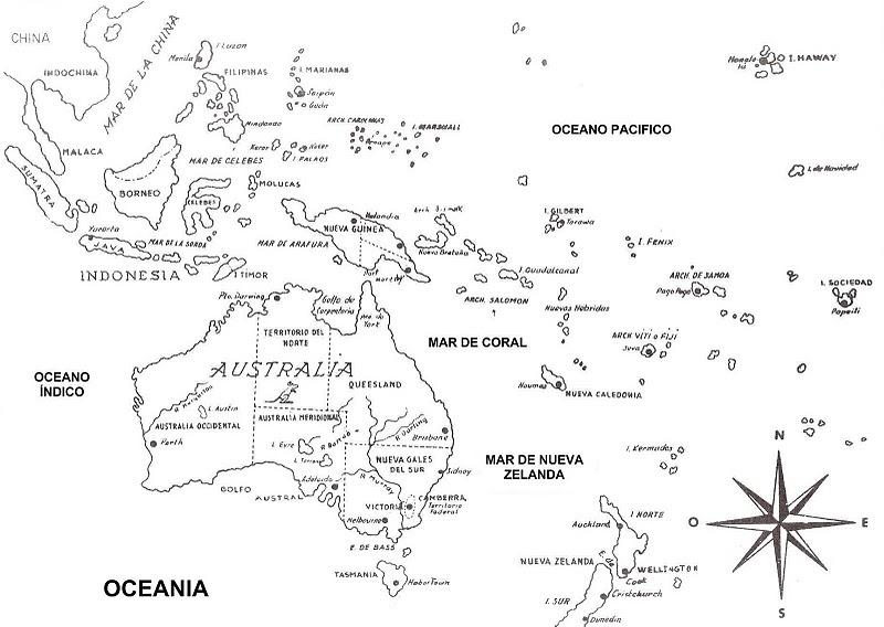 Mapa Mudo De Oceania Para Imprimir.9 Mapas Da Oceania Para Colorir E Imprimir Mapa Da Asia