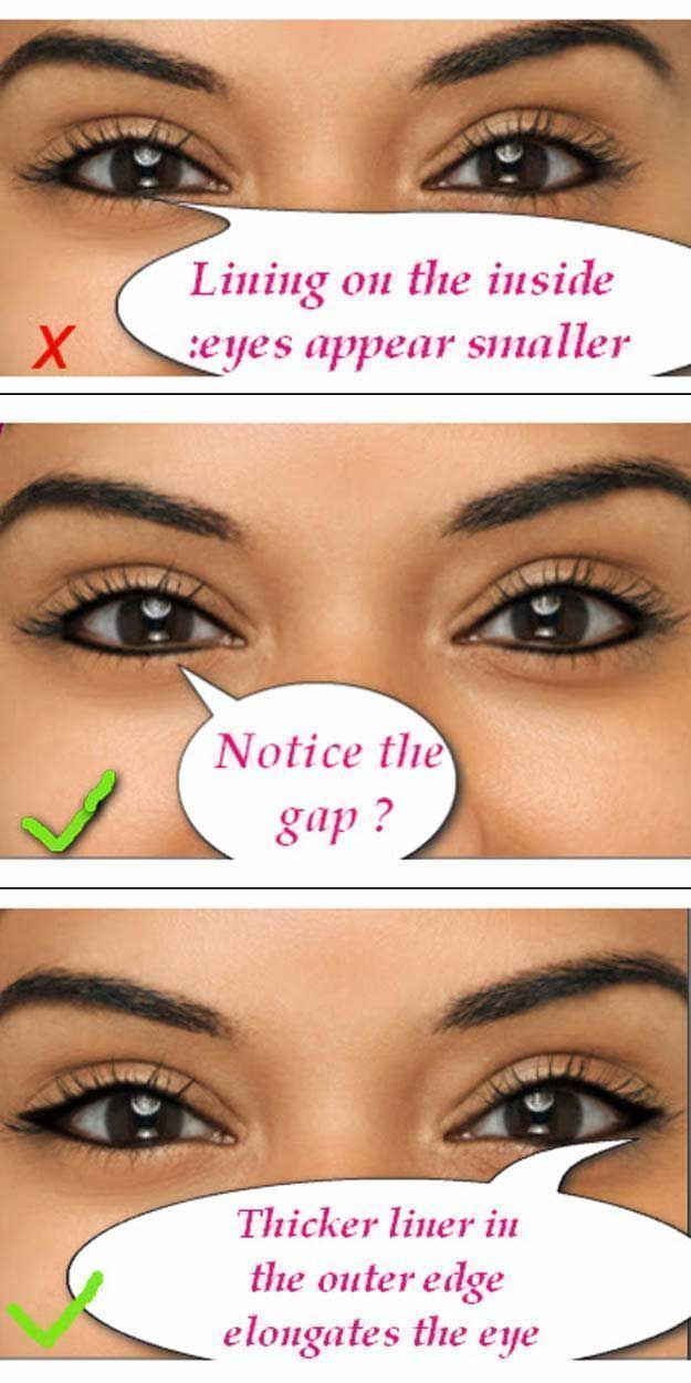 Makeup Tutorials For Small Eyes Small Eyes Eye Makeup Easy Step