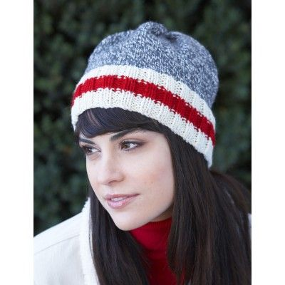 46937b593d2 This easy knit work sock hat is great for beating the coming winter s  chills