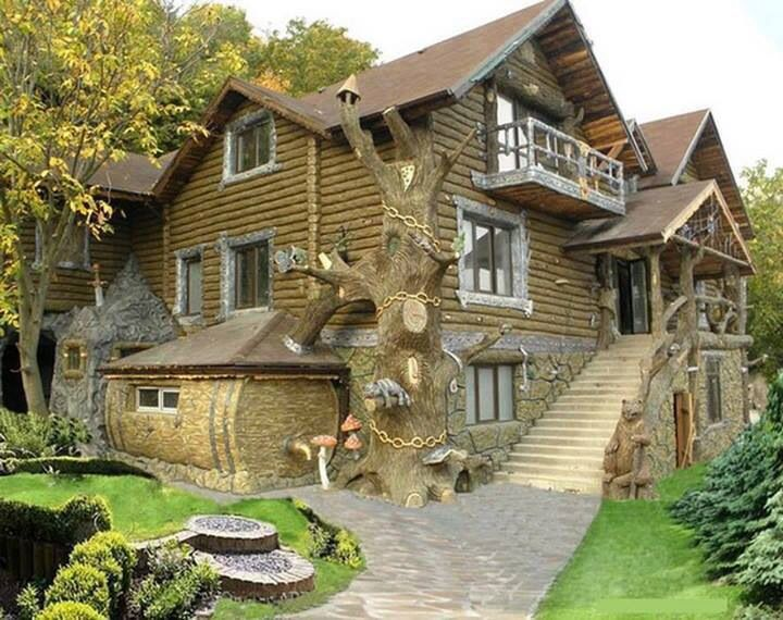 Old Fashioned Houses insane old fashioned/new mythical looking cabin house | future