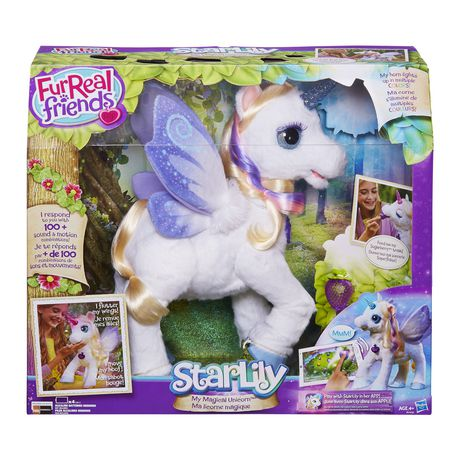 Furreal Friends Starlily My Magical Unicorn Pet Fur Real Friends Unicorn Stuffed Animal Unicorn Kids
