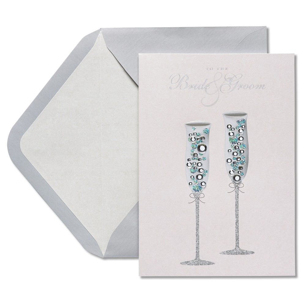 Papyrus champagne wedding congratulations card wedding papyrus champagne wedding congratulations card kristyandbryce Gallery