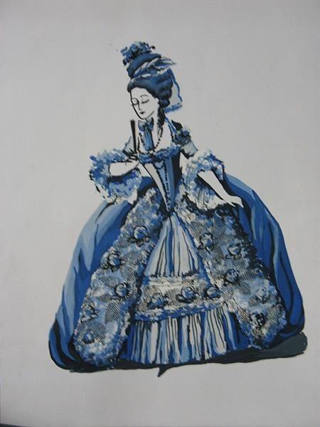 История костюма роккоко