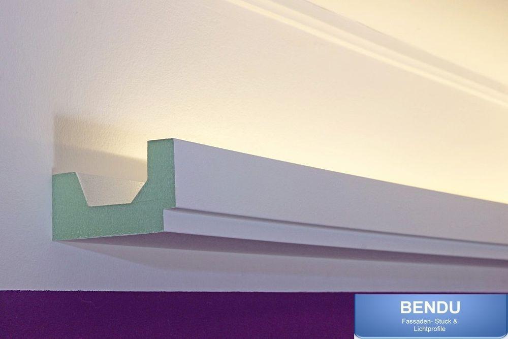 Led Stuckleisten Lichtvoutenprofil Indirekte Deckenbeleuchtung Hartschaum Bendu Ebay Indirekte Beleuchtung Beleuchtung Treppenhaus Beleuchtung