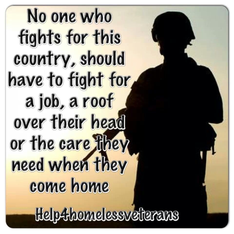 Health Insurance Quotes Va: Homeless Vets Veteran Quotes. QuotesGram