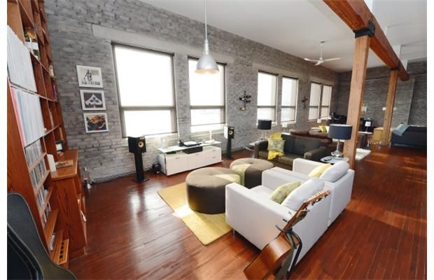 Living the high life in a fifth-floor warehouse condo