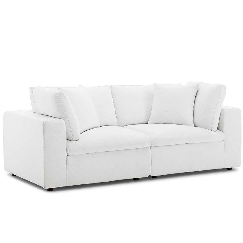 Best Commix Down Filled Overstuffed 2 Piece Sectional Sofa Set 640 x 480