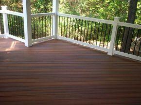 Menards Deck Railing Systems Ipe Decking Deck Railing Design Deck Railings