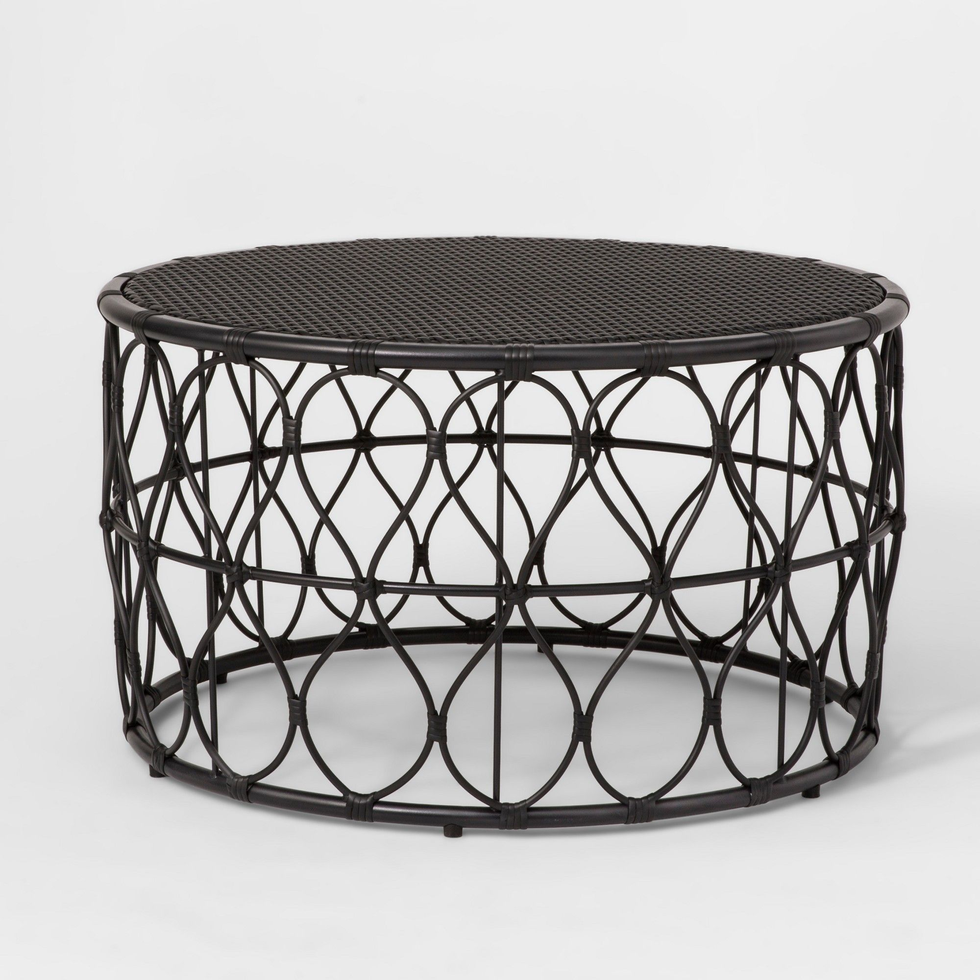 Two Black Coffee Tables To Be Placed In The Middle Of The Couch