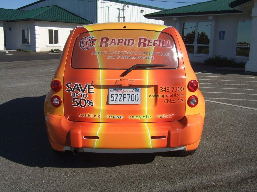 Lrt Graphics Custom Chevrolet Hhr Suv Full Car Wrap
