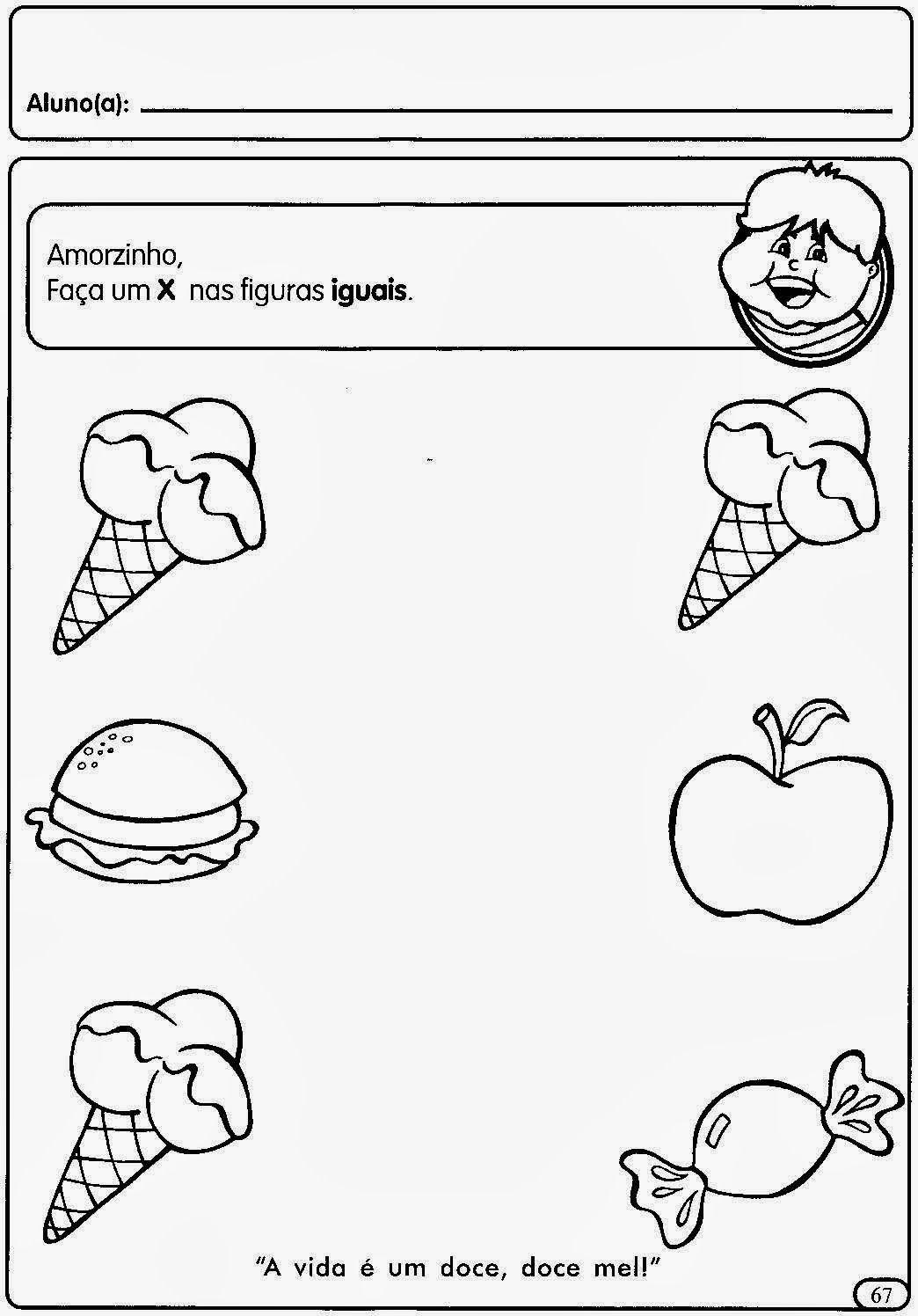Atividades De Matematica Para O Maternal Educando Com Amor 2013