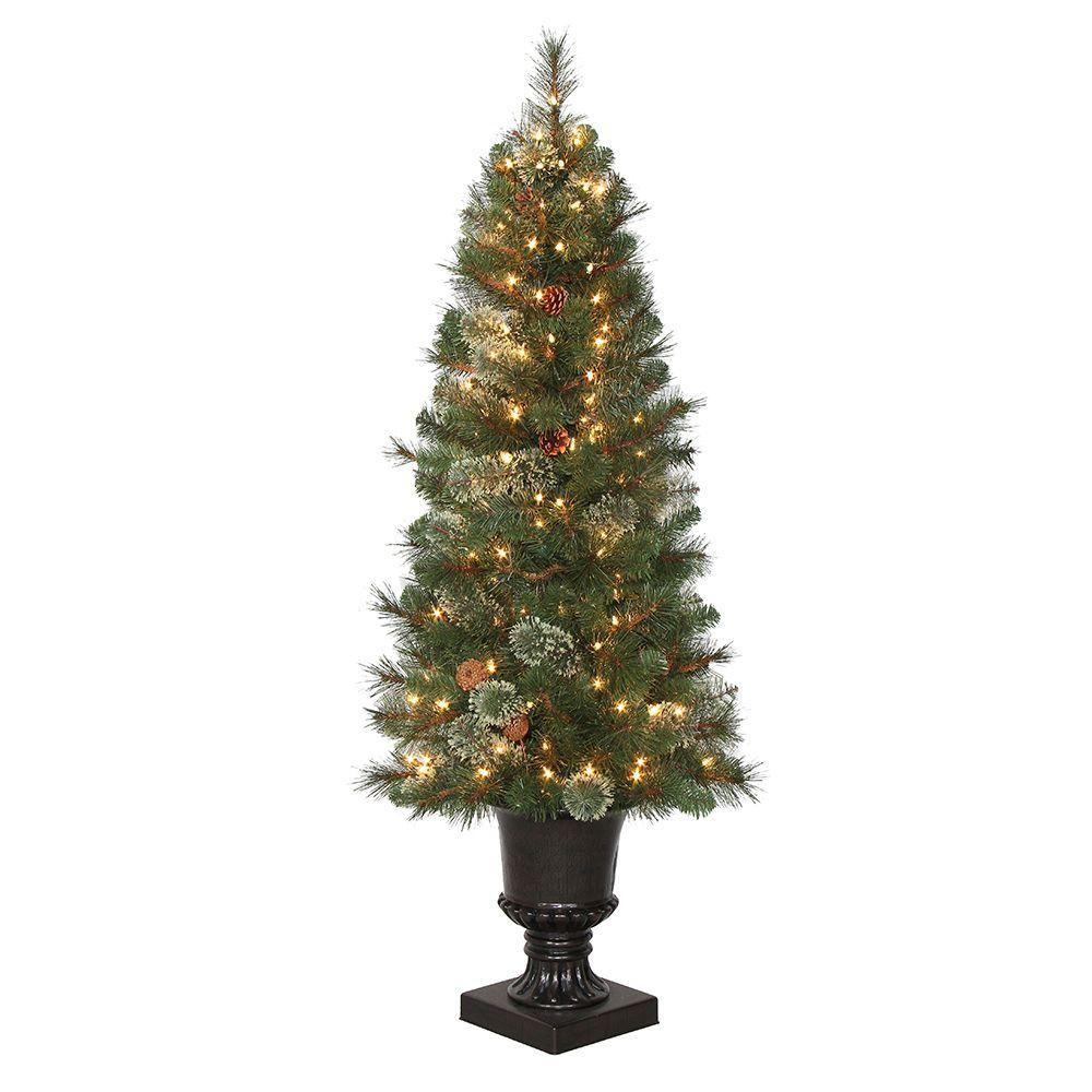 4.5 ft. PreLit LED Alexander Fir Artificial Christmas