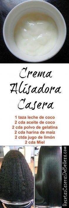 Crema Alisadora Casera