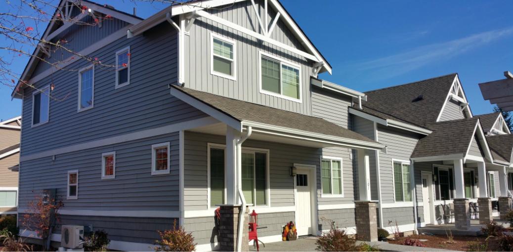Kaycan Vinyl Siding Grey Gray White Trims Rustic Urban Bold Definition House Home Improvement Exterior Sty Vinyl Siding Stone Cladding Exterior Stone