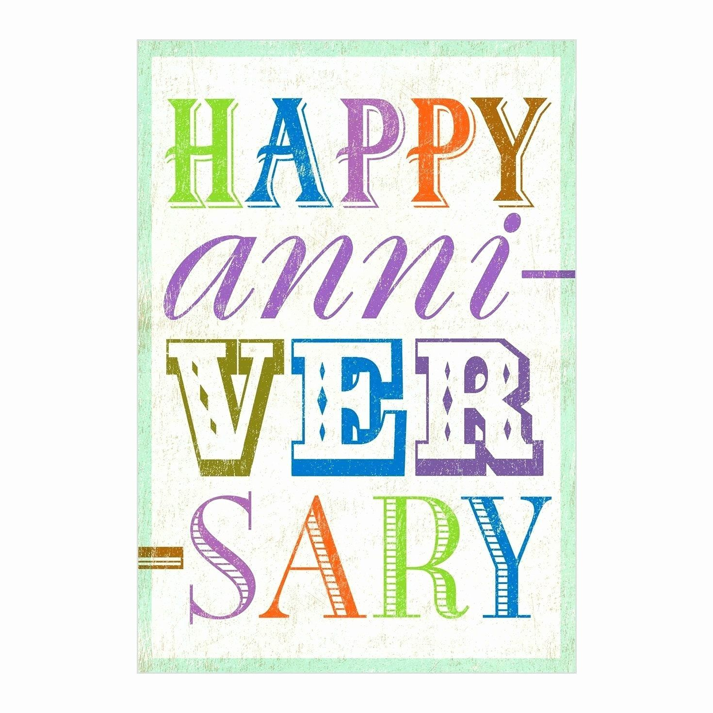 1 Year Anniversary Card Lovely Work Anniversary Cards