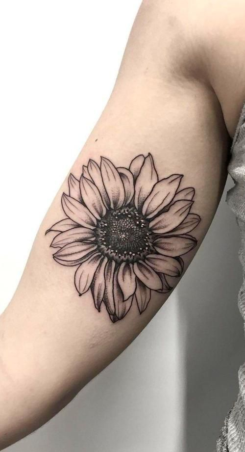 Photo of 43 Chic Sunflower Tattoos Ideas That Inspire You To Get Ink – 43 Ch …