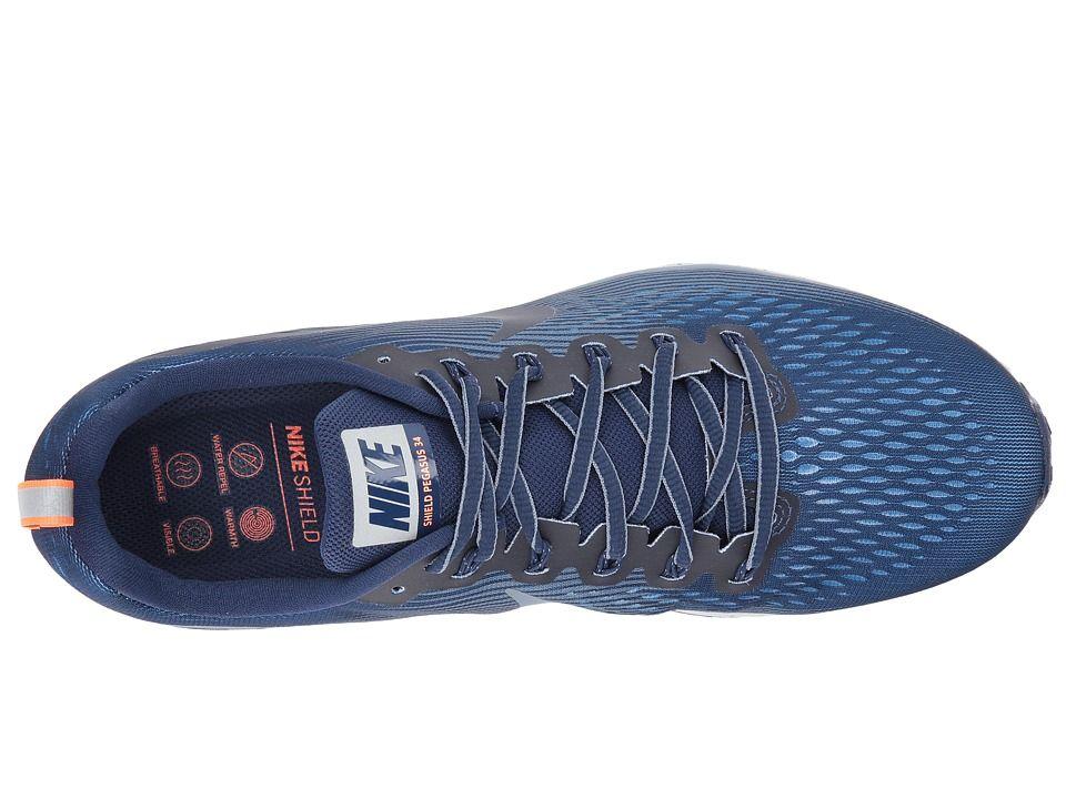 5f603d355a9 Nike Air Zoom Pegasus 34 Shield Men s Shoes Binary Blue Obsidian Armory Blue