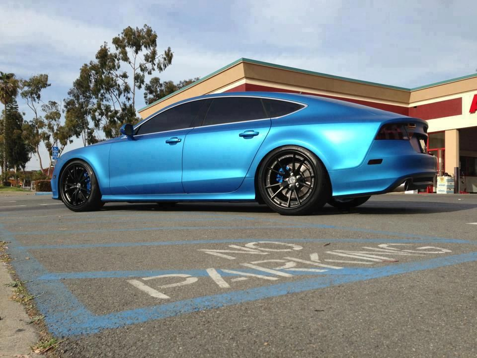 audi a7 tuning 13 tuning pinterest modified cars. Black Bedroom Furniture Sets. Home Design Ideas