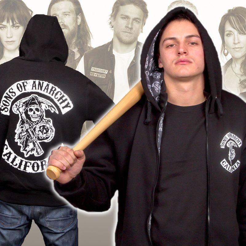 e8e9b235 Толстовка Сыны Анархии Sons of Anarchy (толстовки и кофты, Мотоциклы).  Можно купить в интернет-магазине Шалена Майка