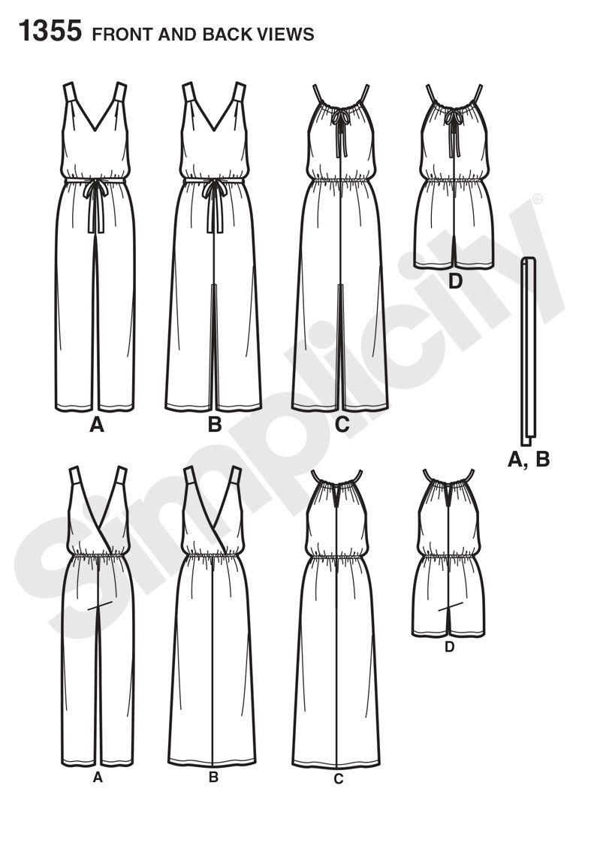 simplicity 1355 - Google Search | dress paterns | Pinterest ...