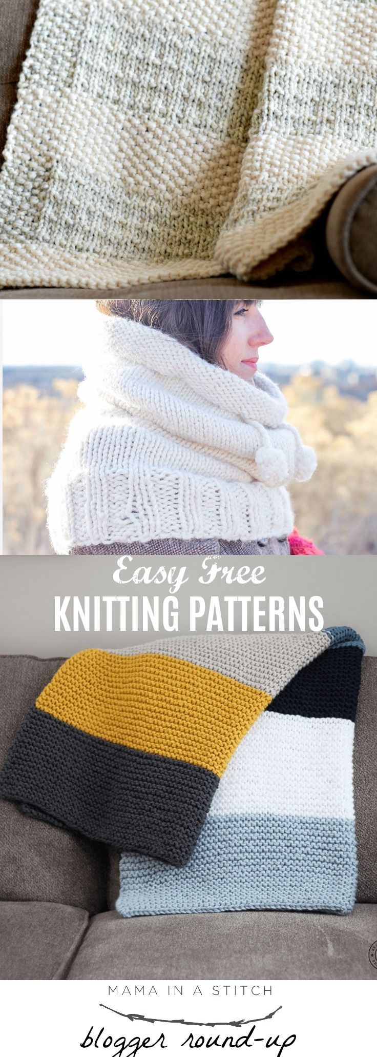 Easy Knitting Patterns To Try | lets knit :) | Pinterest | Bufandas ...