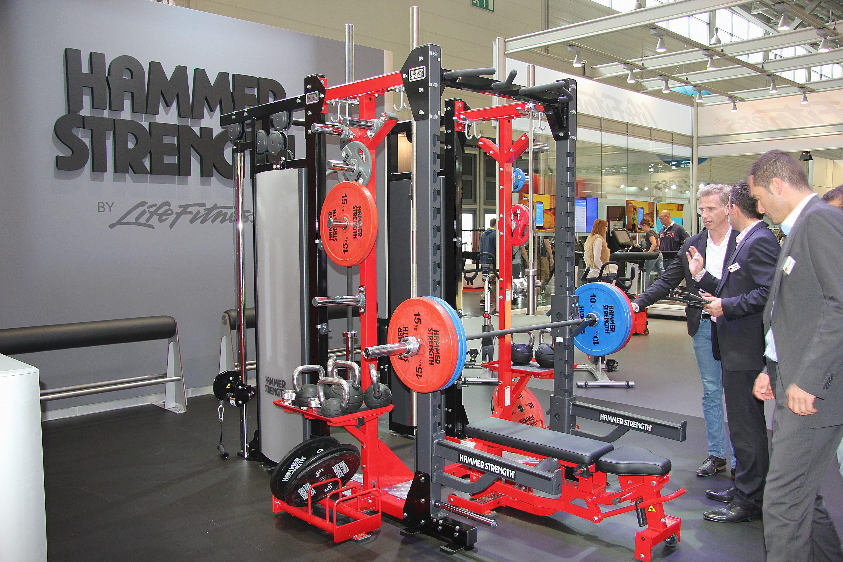 Hammer Strength FIBO 2014