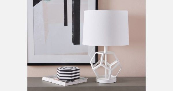 Pin By Veronica Lalonde On Veronica S Wish List White Table Lamp Table Lamp Lamp