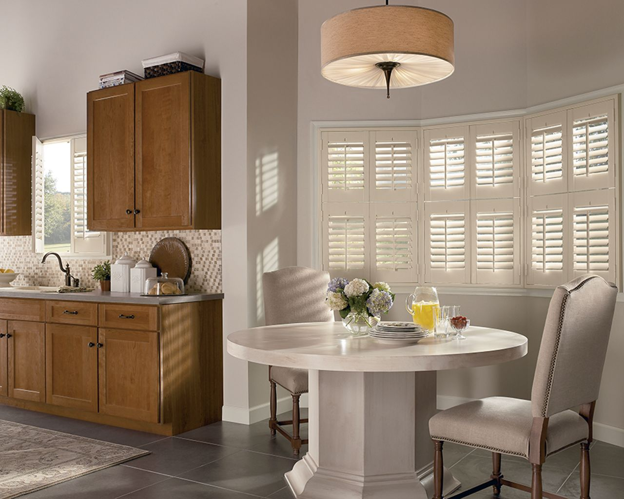 Timber shutters luxaflex newstyle timber shutters provide the