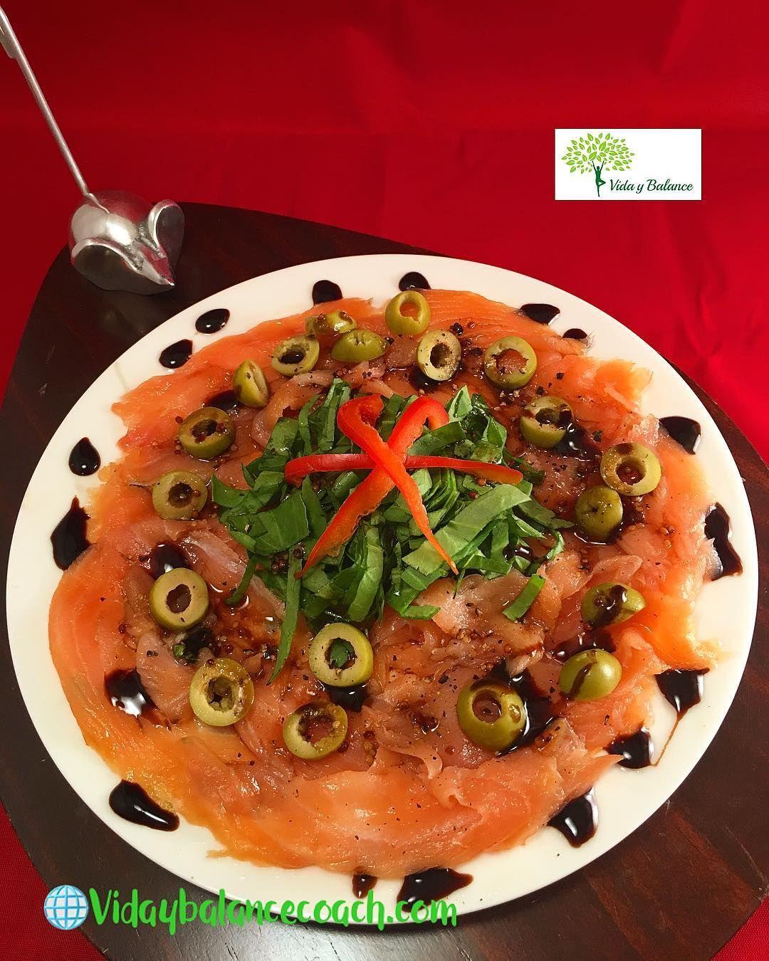 Carpacho De Salmon Ahumado Excelente Opcion Para