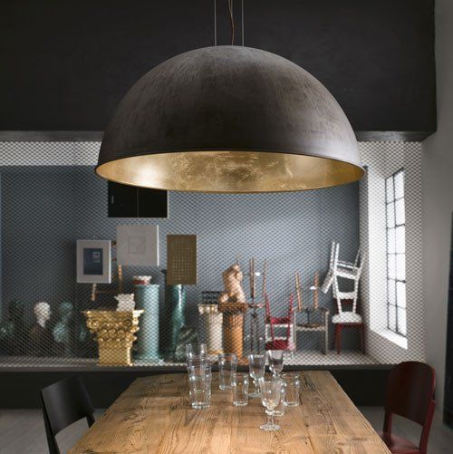 Italian Made Dome Pendant 3 Stay Suspension Assorted Configurations Pendant Lighting Bedroom Large Pendant Lighting Large Table Lamps