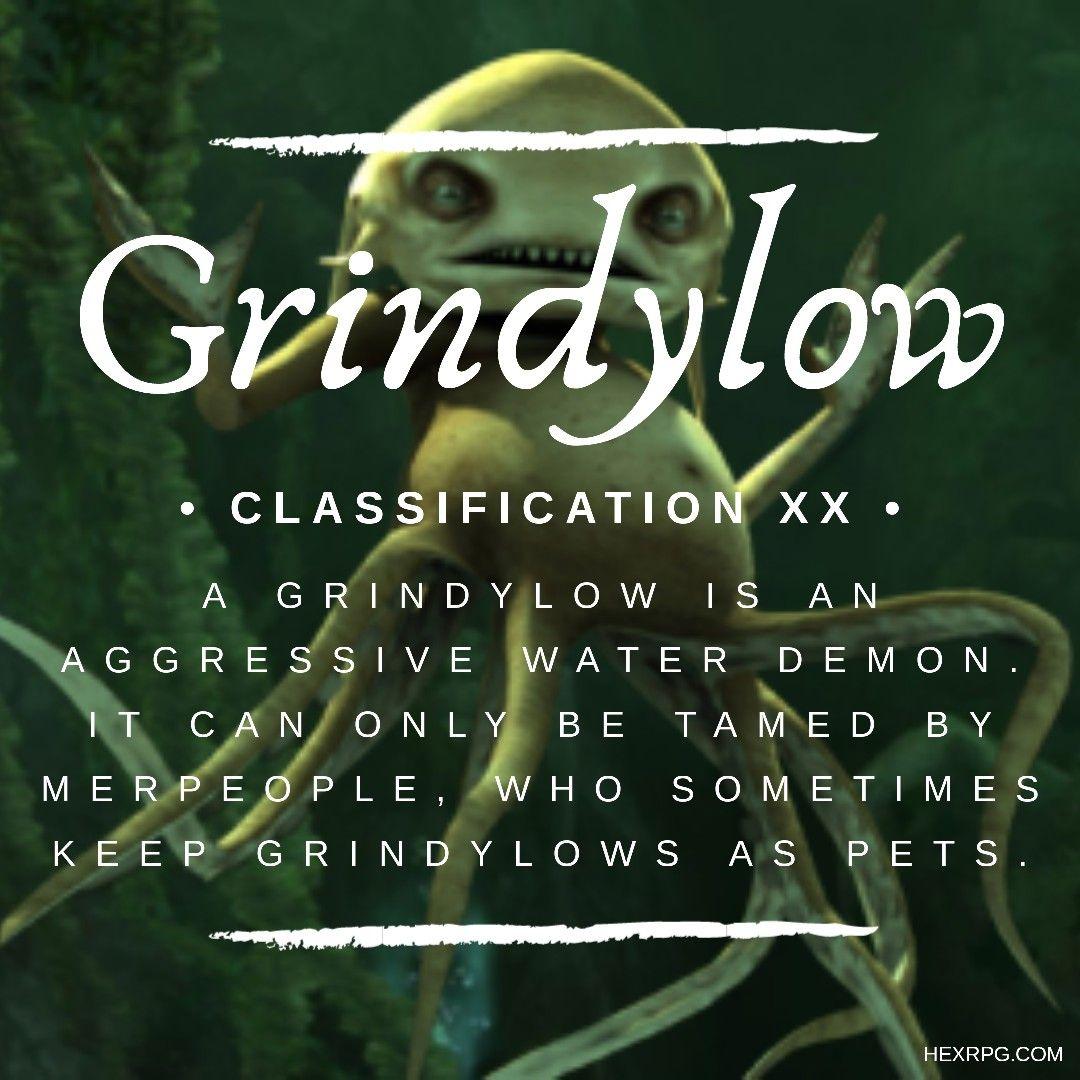 43+ Grindylows info