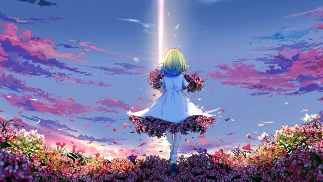 Pin On Anime Wallpapers Cute colorful anime wallpapers