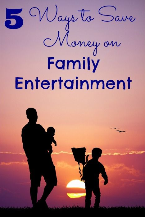 How to Save Money - 5 Ways to Save on Family Entertainment - The Frugal Navy Wife