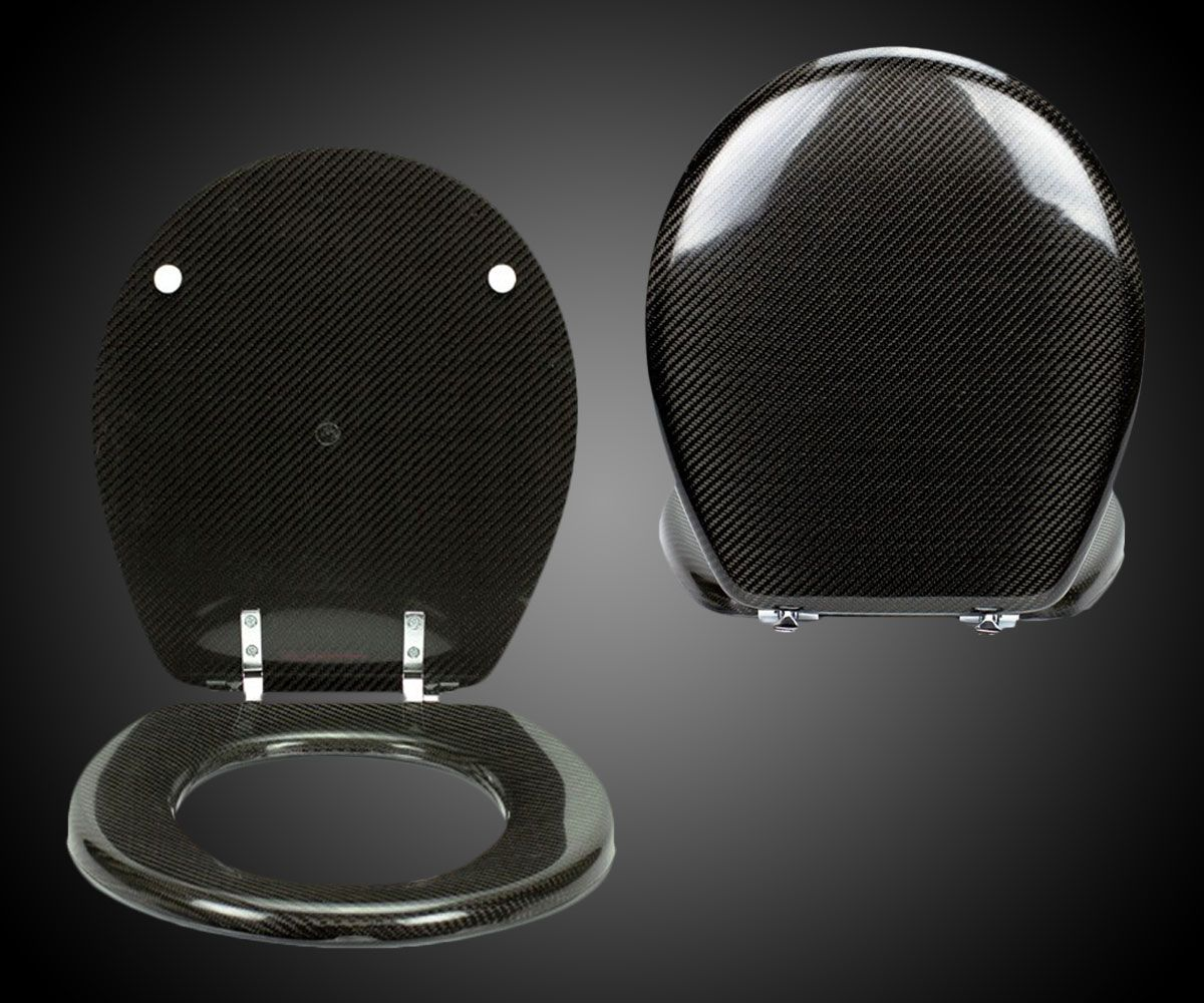 Carbon Fiber Toilet Seat.Carbon Fiber Toilet Seat Dudeiwantthat Com Gifts For Him