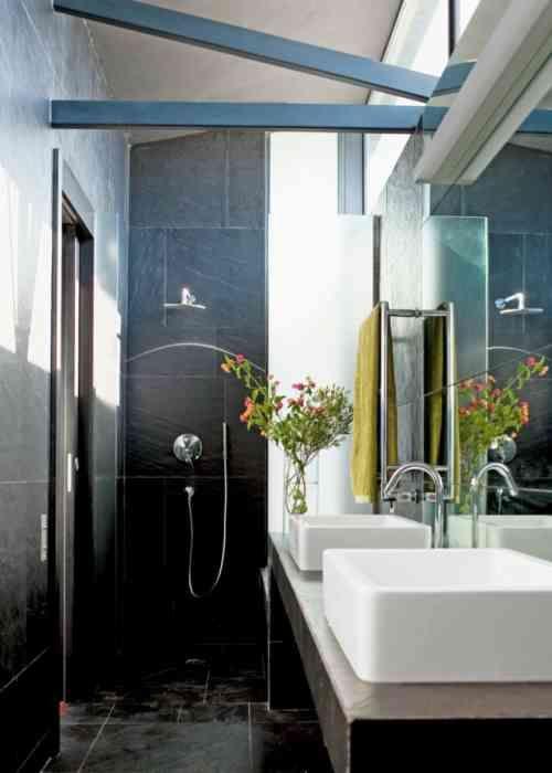 Petite salle de bain moderne en 34 exemples inspirants | * ☆ Salle ...