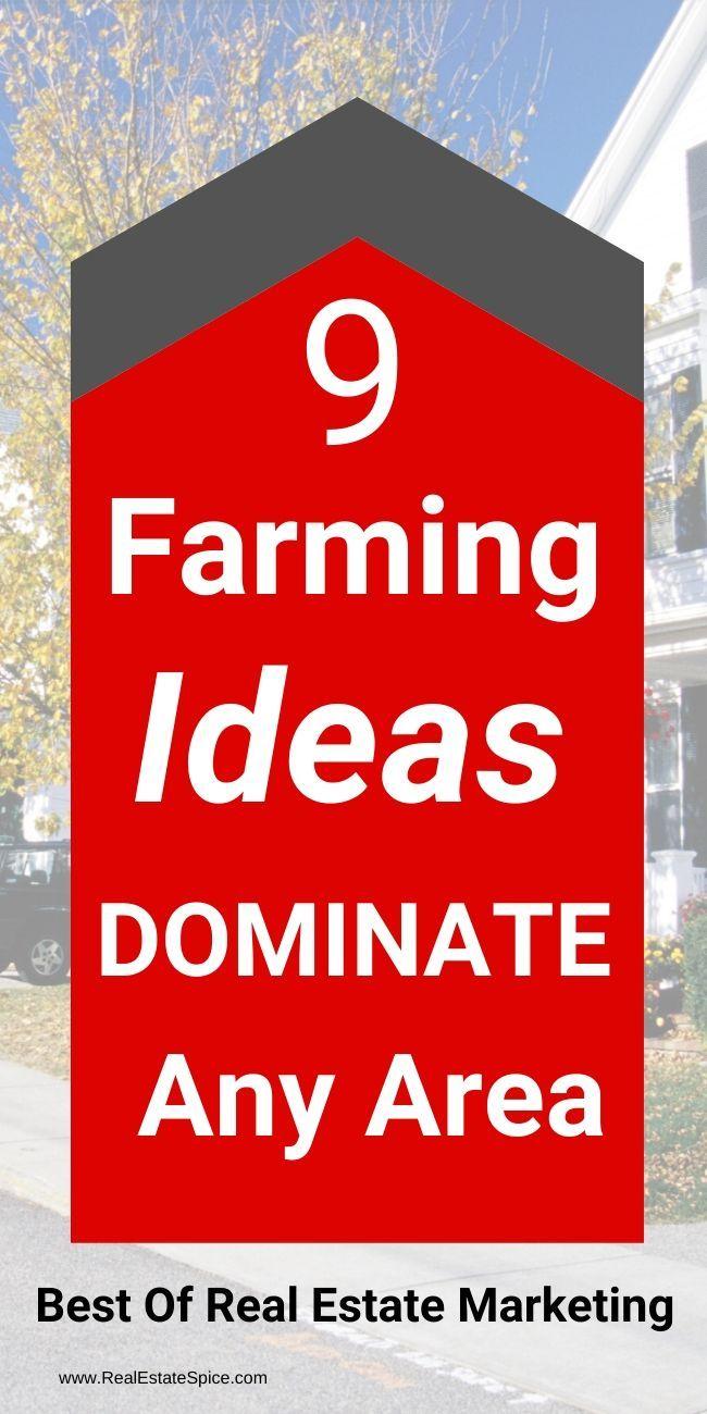 9 Real Estate Farming Ideas To DOMINATE any area