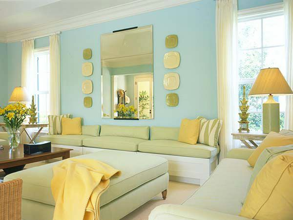 How To Use Yellow To Highlight Your Living Room | iDesignArch ...