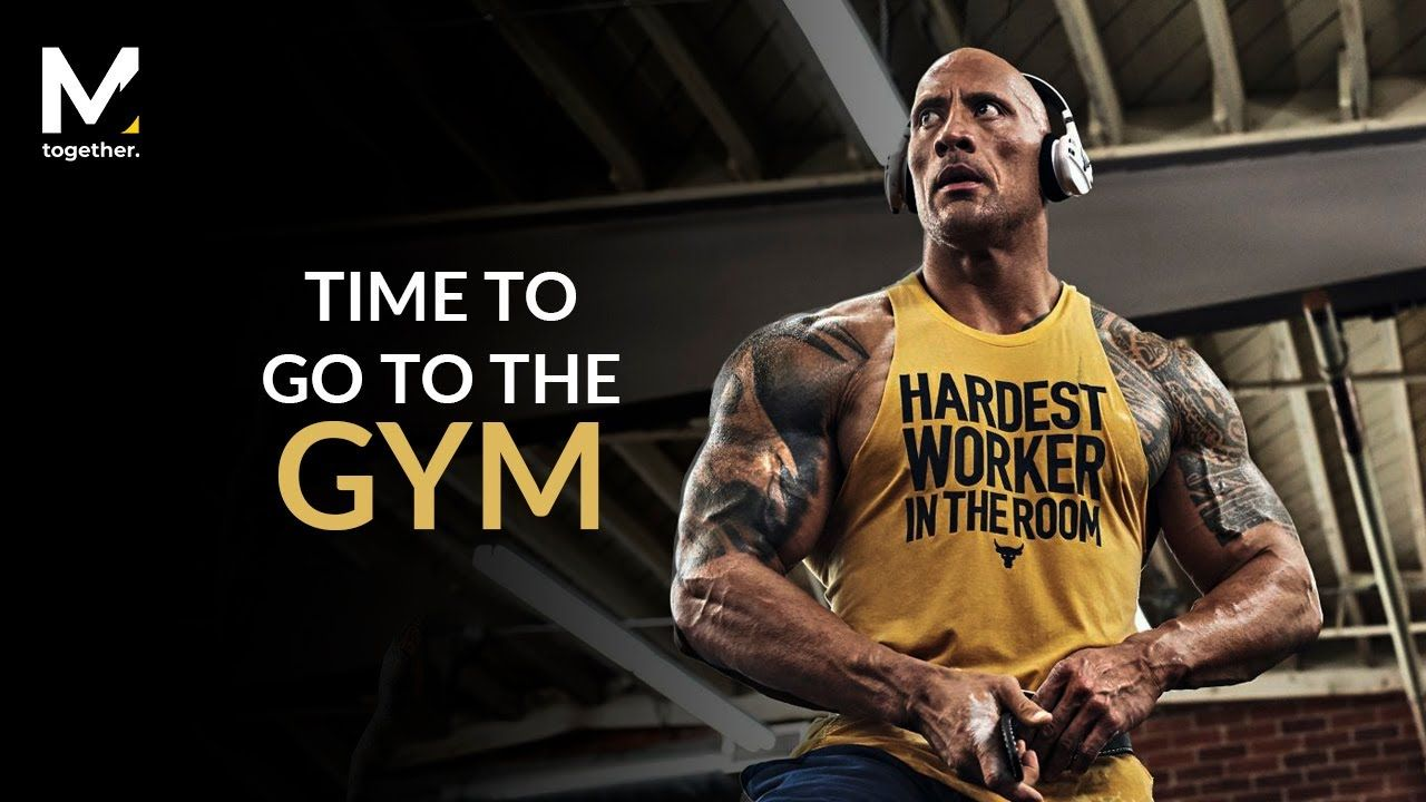 Dwayne johnson the hardest worker in the room the