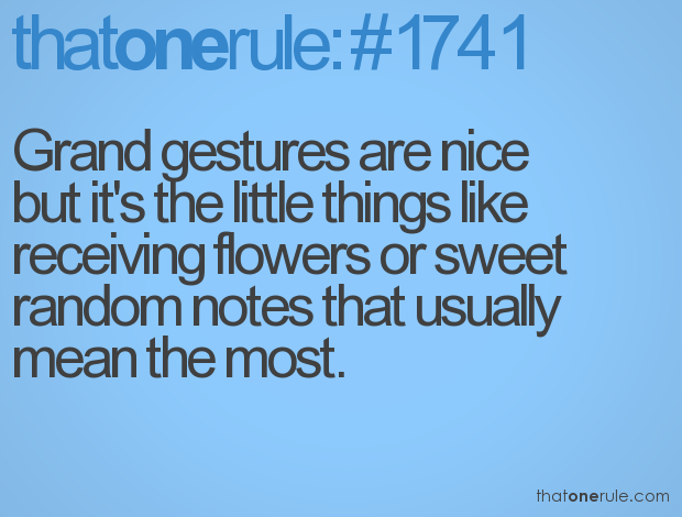 Love Marriage Quotes Grand Gestures Are Nice But Its The Little