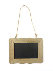 Small Blackboard Chalkboard Rectangular Wooden Frame Message Memo Wedding Board | eBay