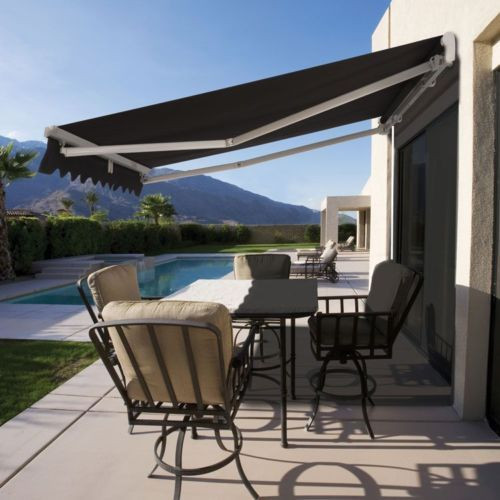 Luxury Retractable Folding Arm Awning 4m X 2 5m Outdoor Awnings Pergola Backyard Pergola