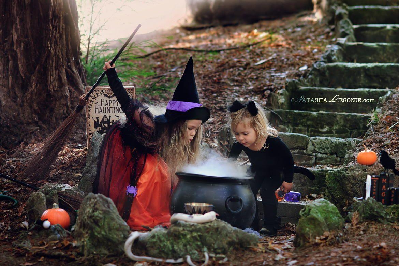 Halloween theme mini photo shoot costume party