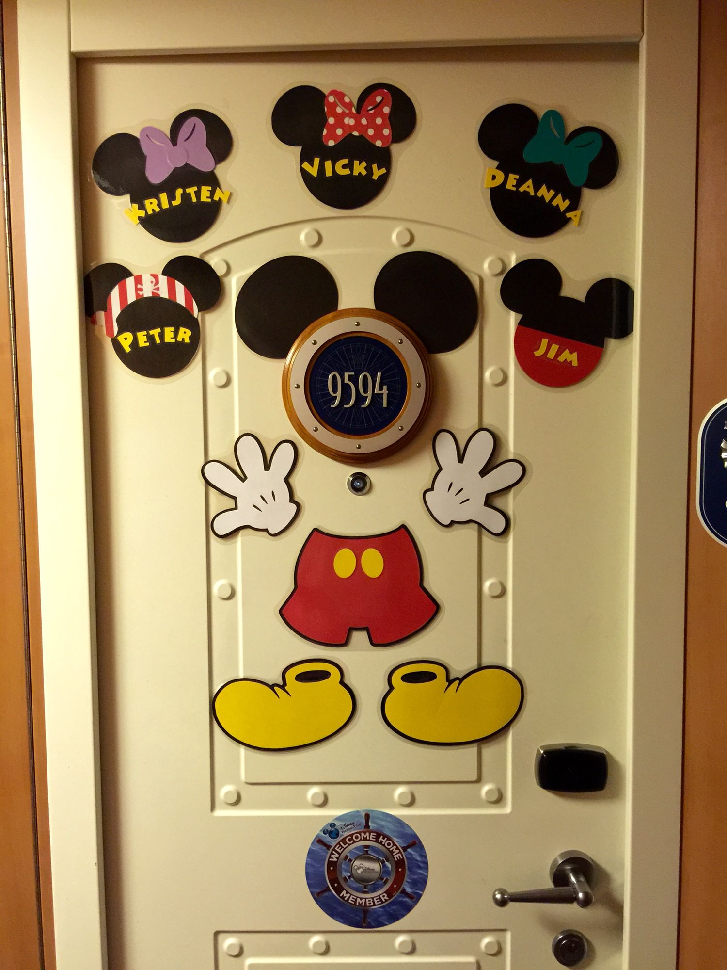 Love decorating our stateroom door! Looks awesome and ...