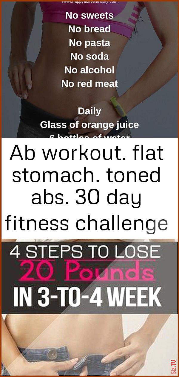 Wöchentliche Diät für flachen Bauch