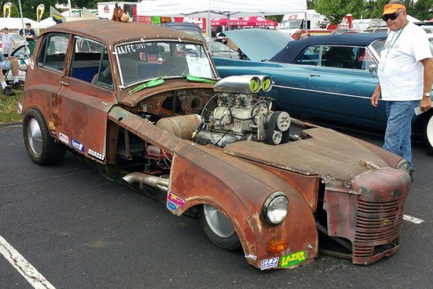 Barn Find Funny Car 1949 Triumph Mayflower